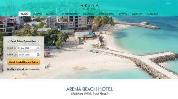 בית מלון ארנה ביץ' - Arena Beach Hotel