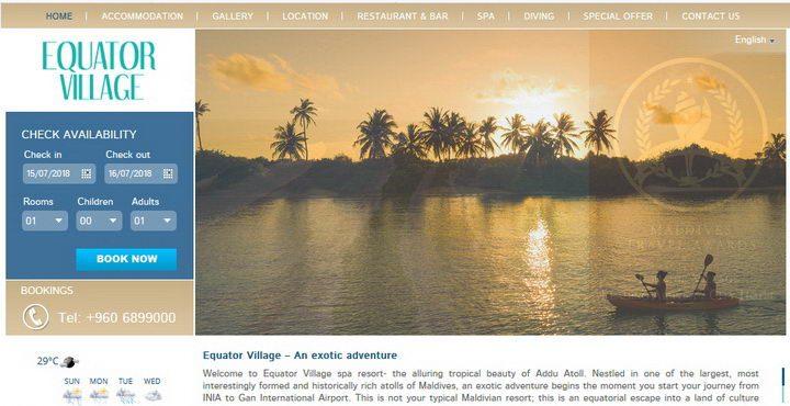 Equator Village Hotel Maldives
