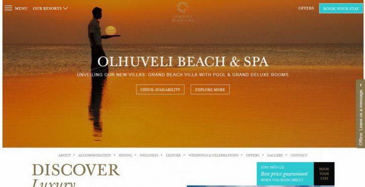 נופש בבית המלון אולהובלי מלדיבים - Olhuveli Maldives